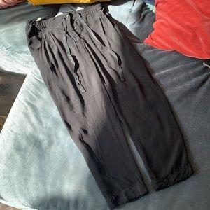 Aritzia / Wilfred - Black Marais Trousers